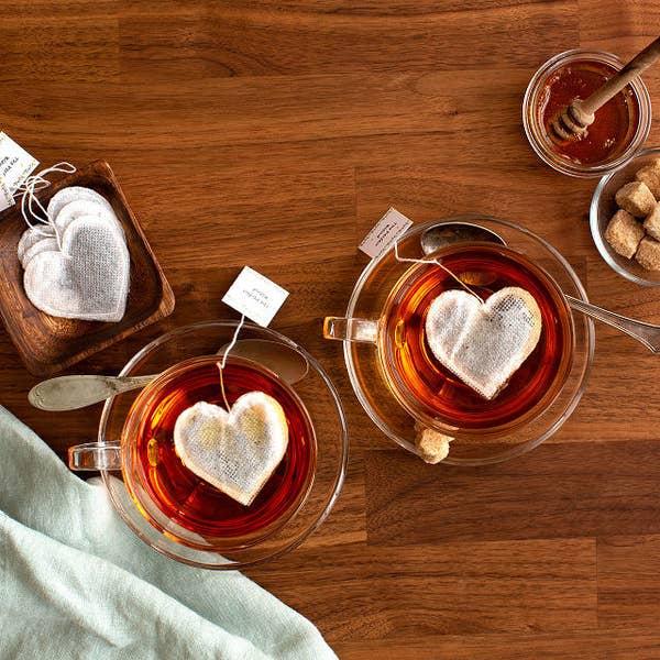 情人節禮物-心形茶包