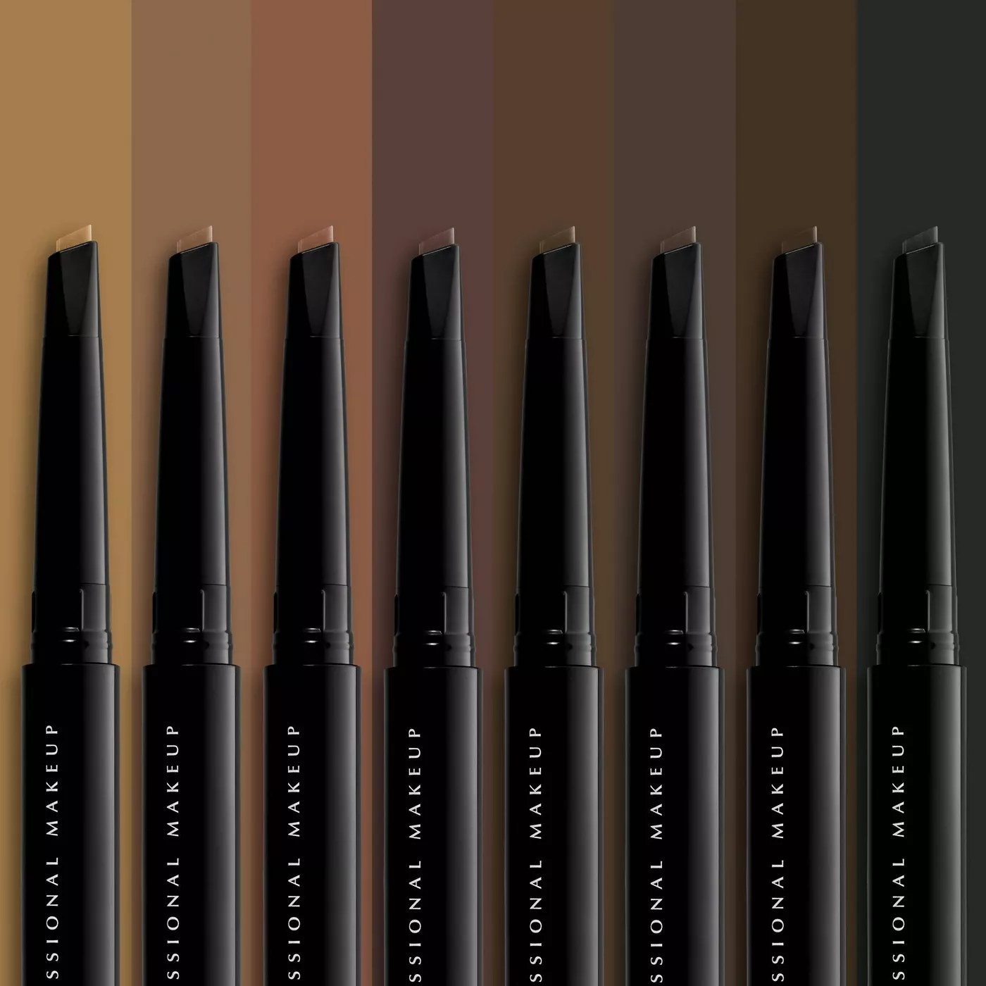 NYX Professional Makeup Eyebrow Pomade Pencil in eight of the nine available shades
