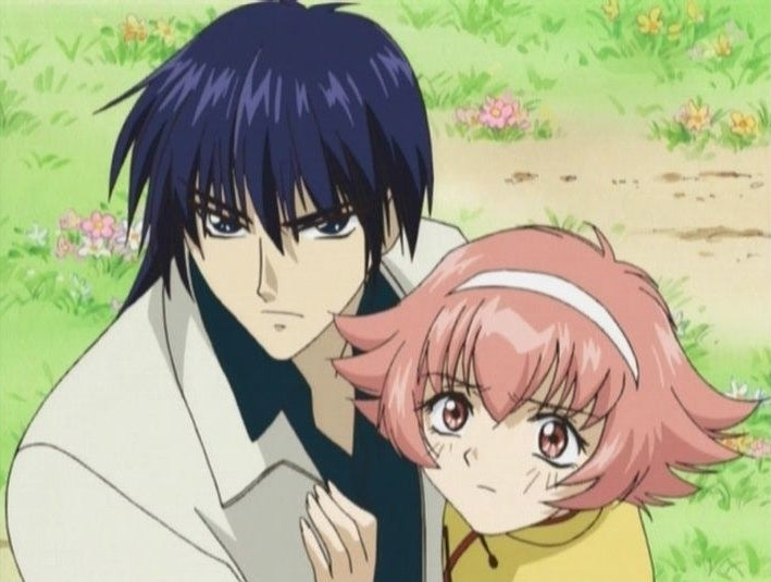 Himeno Awayuki and Hayate, the Knight Of Wind