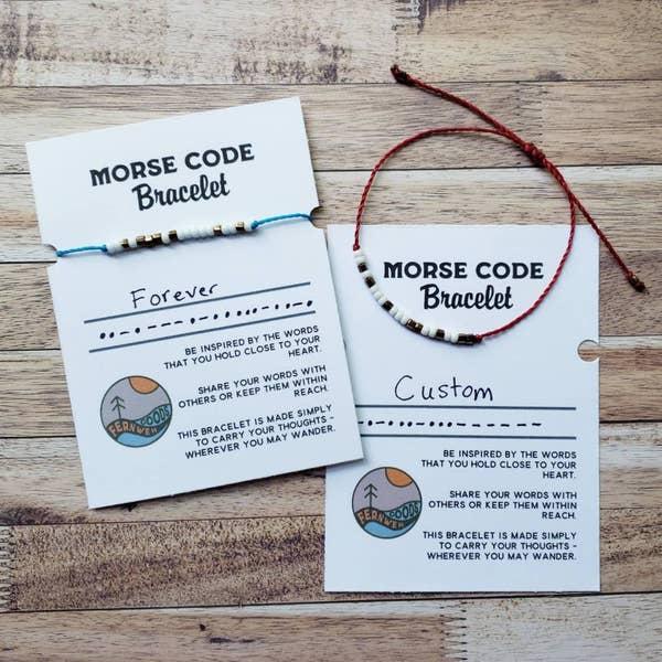 The morse code bracelet