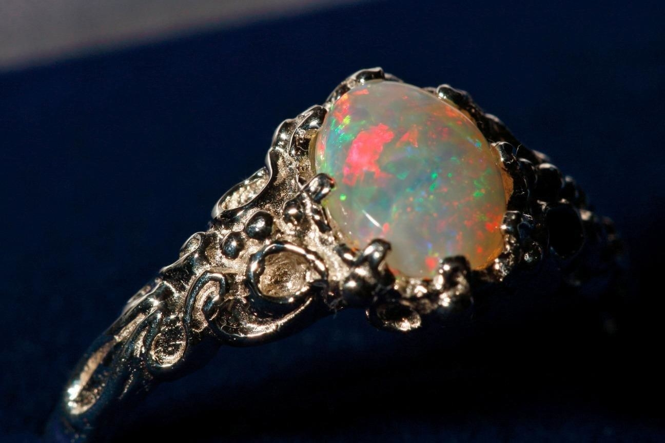 Review photo of the opal ring