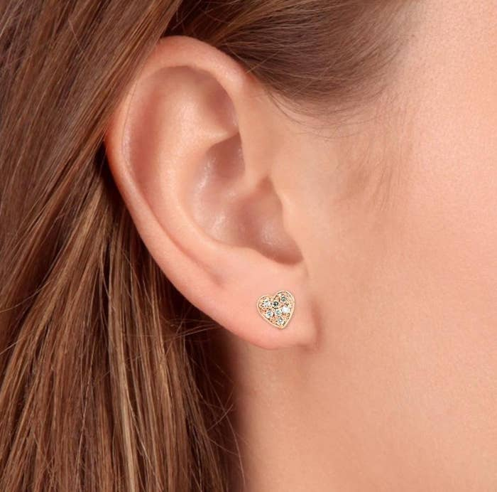 The heart studs