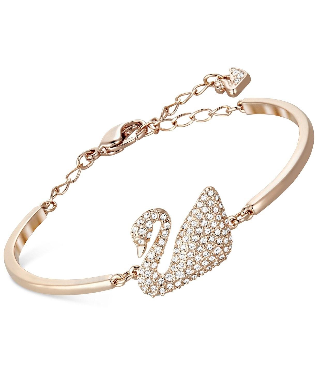 The swan bangle bracelet