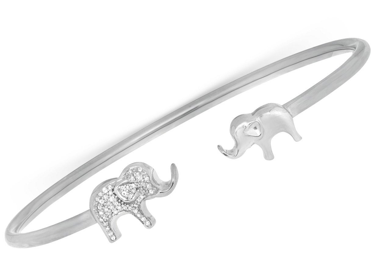The elephant bangle bracelet