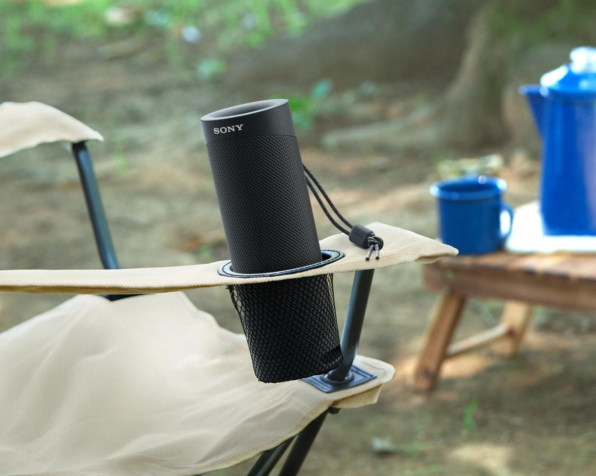 The black speaker