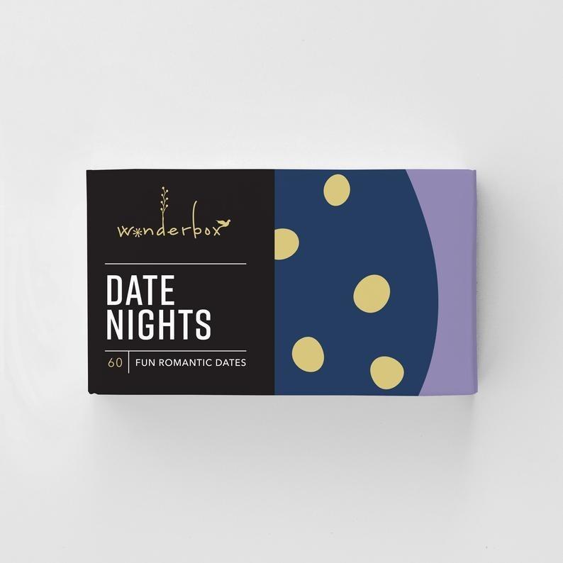 Wonderbox Date Nights with 60 fun romantic dates