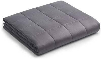 灰色的毯子