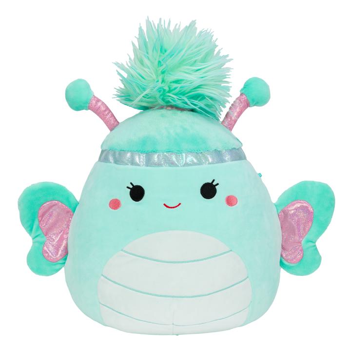 the turquoise Reina squishmallow
