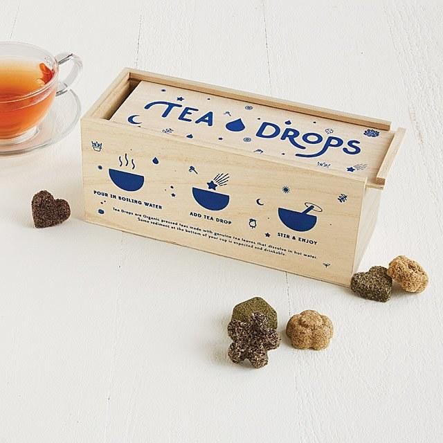 The tea drop sampler