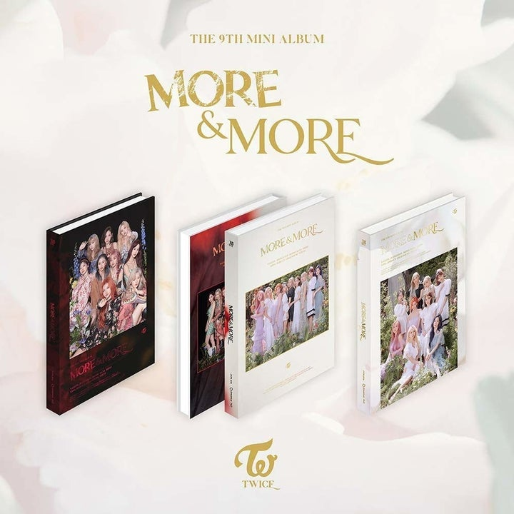 Twice's More and More album cover