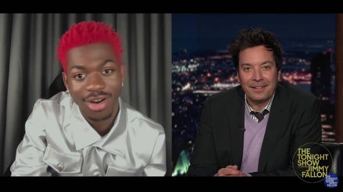 Lil Nas X explains his real name to Jimmy Fallon