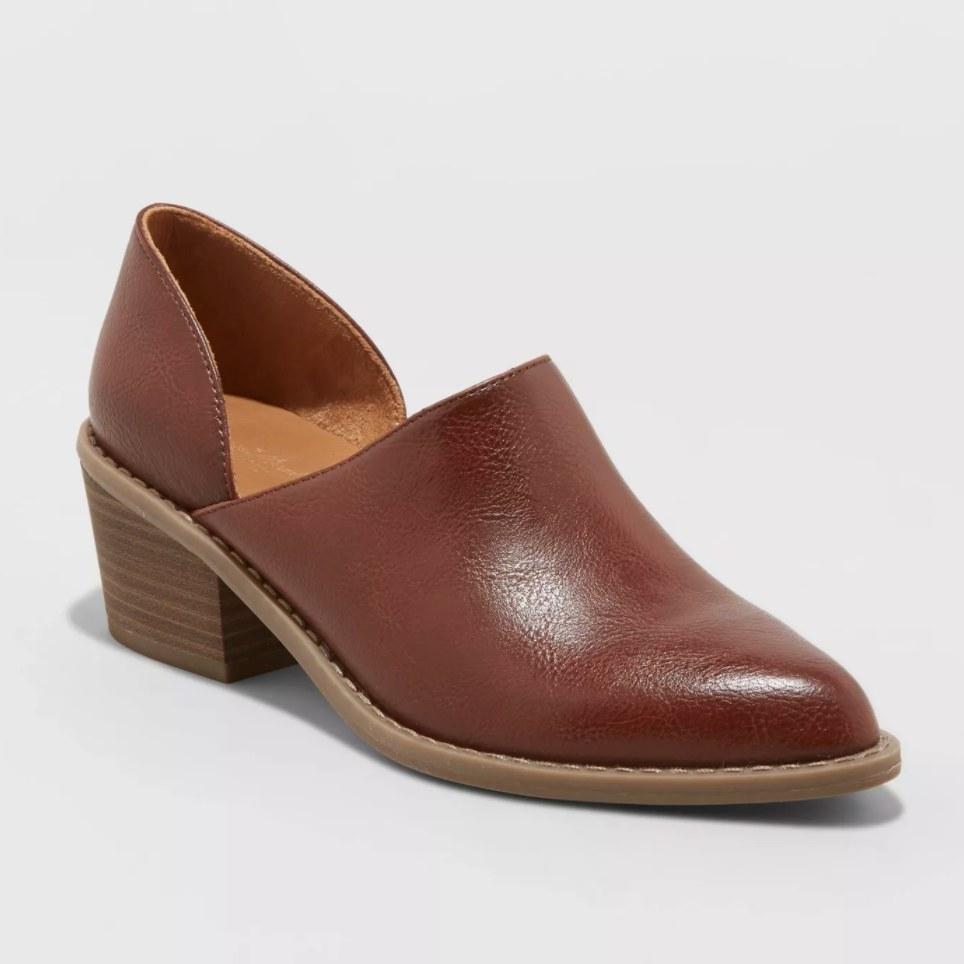 The boot in cognac