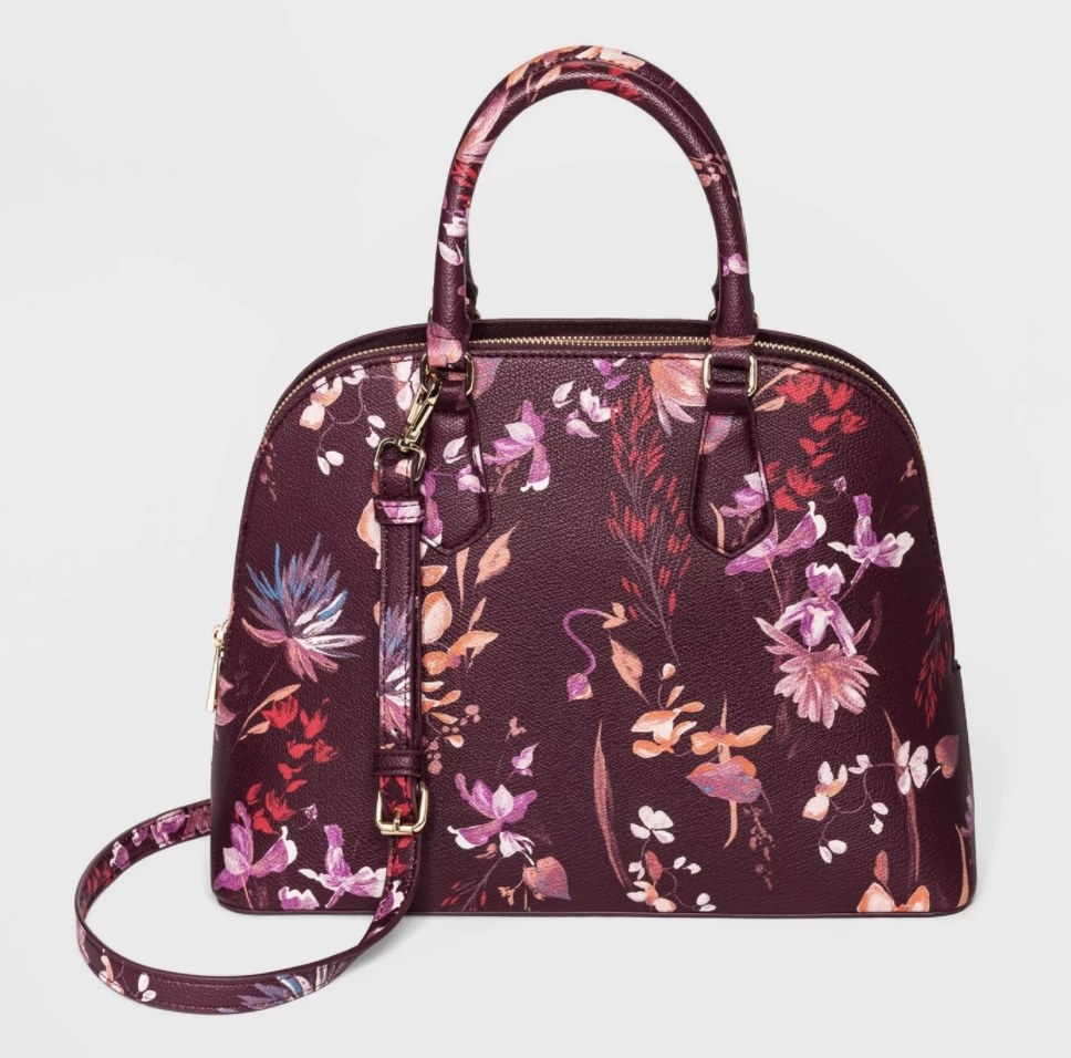 The bag in the color multicolor