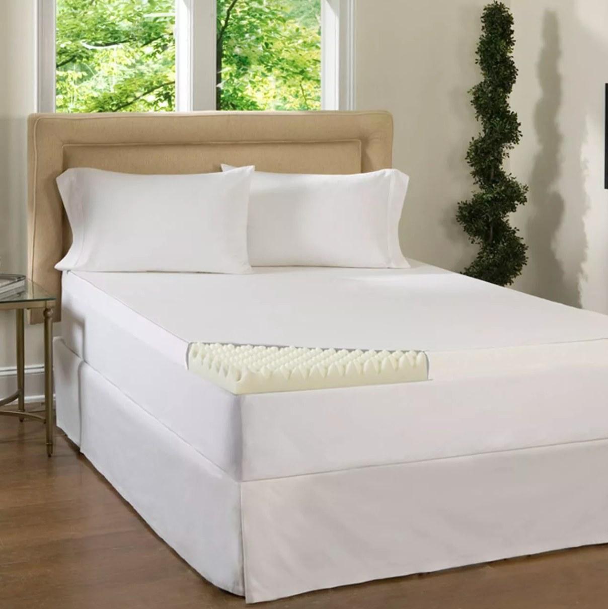 The mattress topper