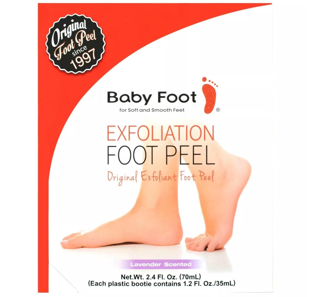 The foot peel