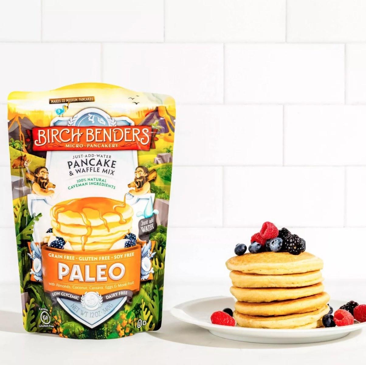 The pancake mix