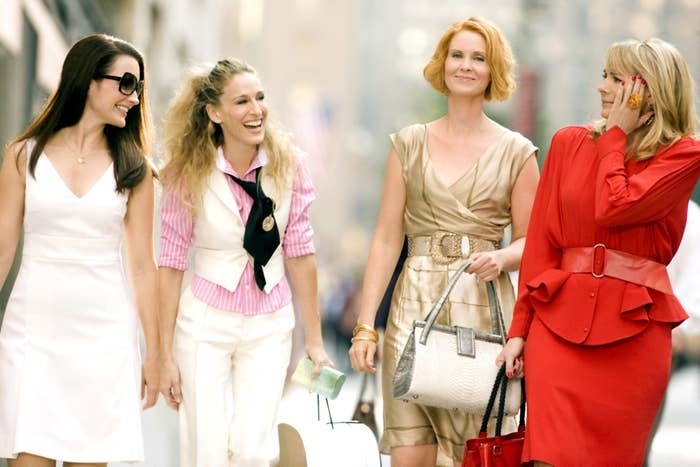 SEX AND THE CITY: THE MOVIE, Kristin Davis, Sarah Jessica Parker, Cynthia Nixon, Kim Cattrall, 2008