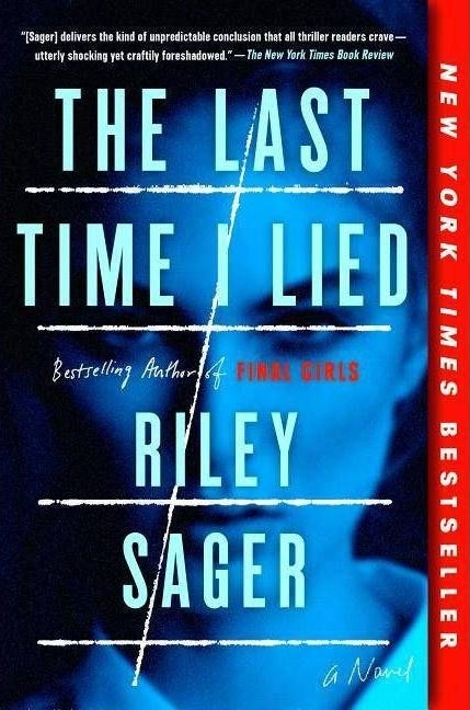 """cover of """"the last time I lied"""" by riley sager"""