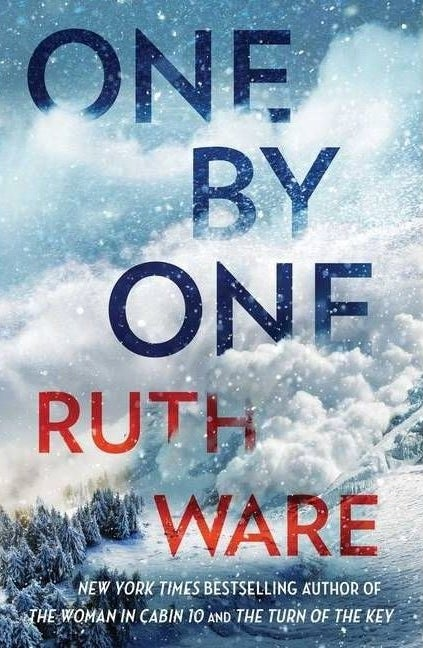 """cover of """"one by one"""" by ruth ware"""