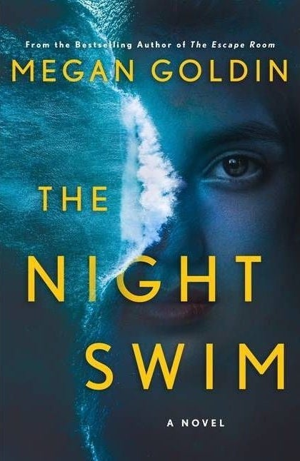 """cover of """"the night swim"""" by megan goldin"""