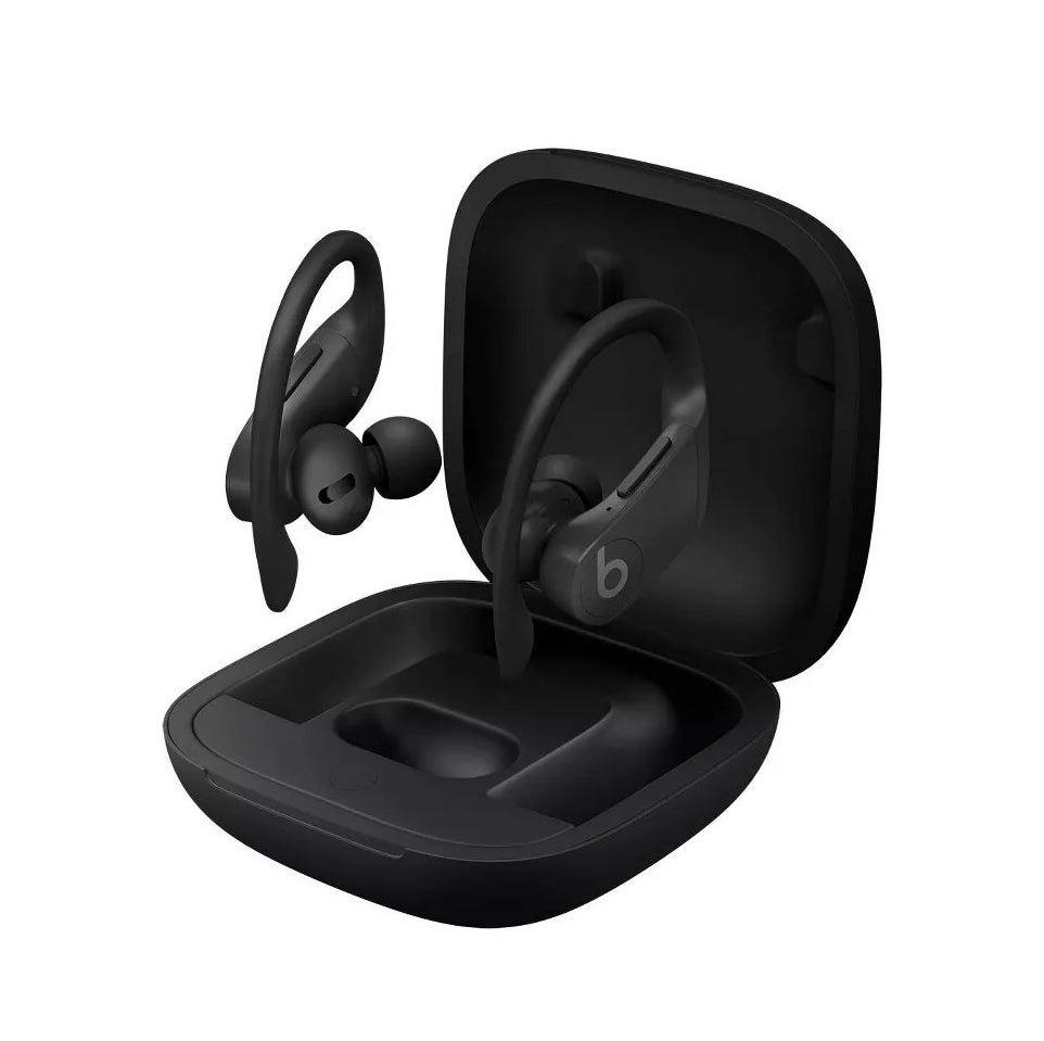 The earphones in black
