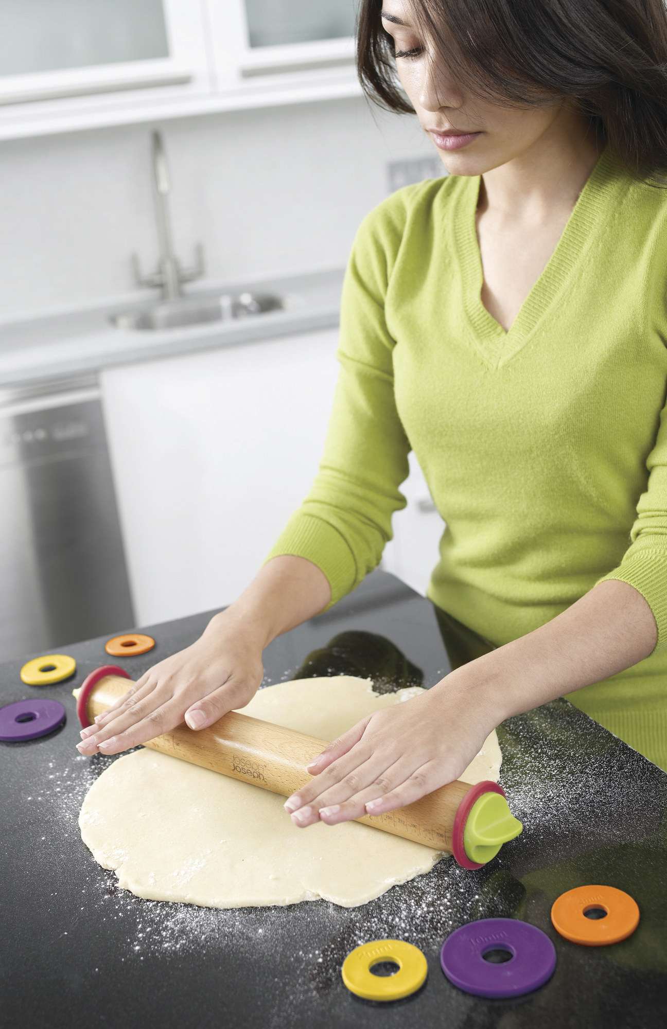 A model using the rolling pin