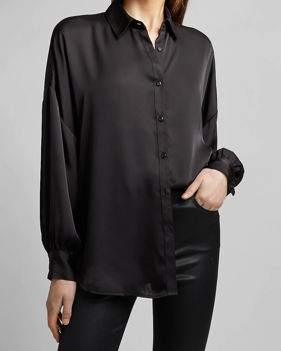 black long blouse