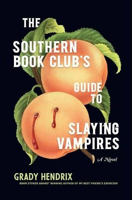 """cover of """"the southern book club's guide to slaying vampires"""" by grady hendrix"""