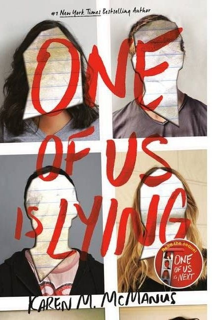 """Cover of """"one of us is lying"""""""