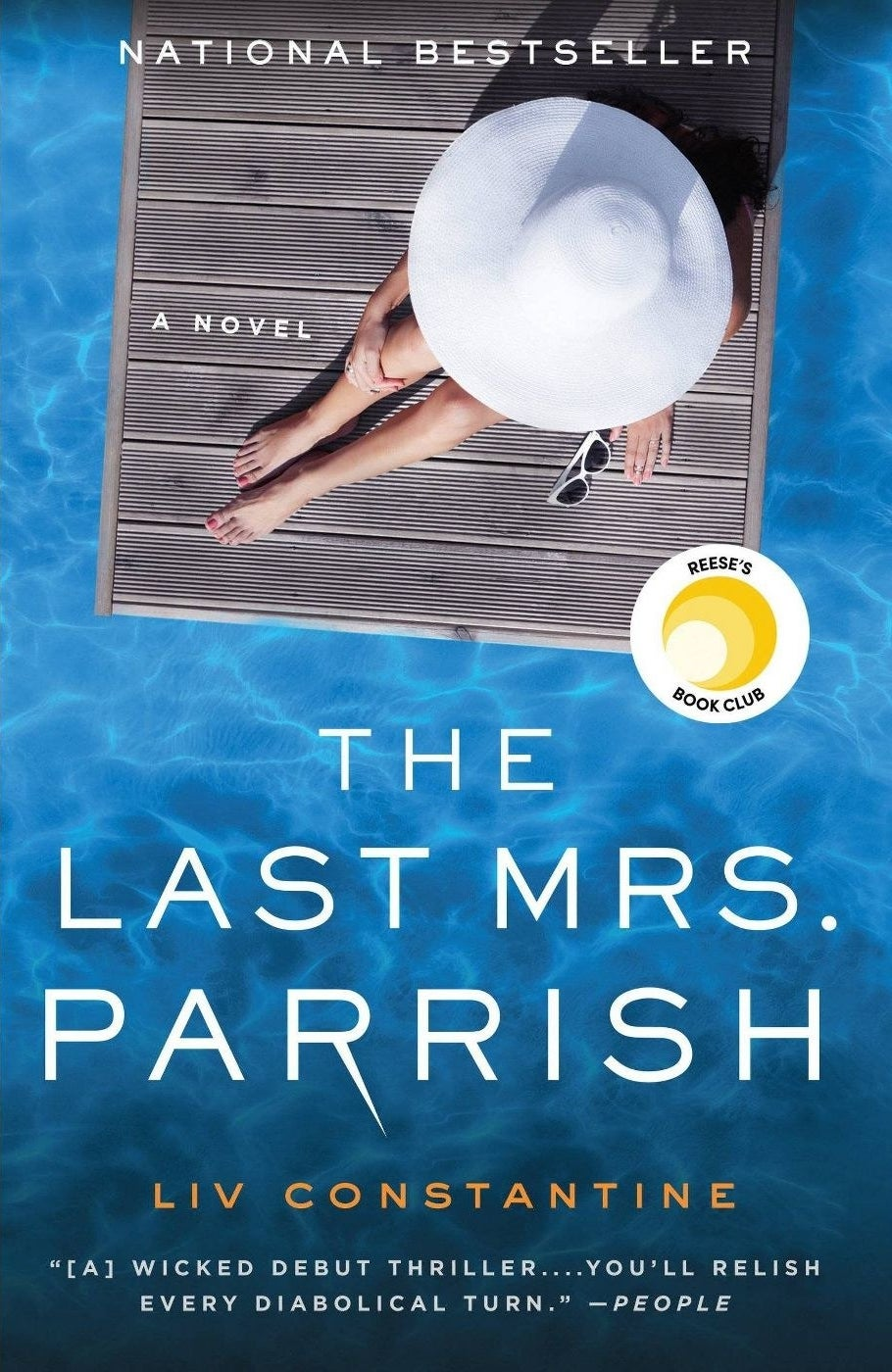 """cover of """"The Last Mrs. Parrish"""" by Liv Constantine"""