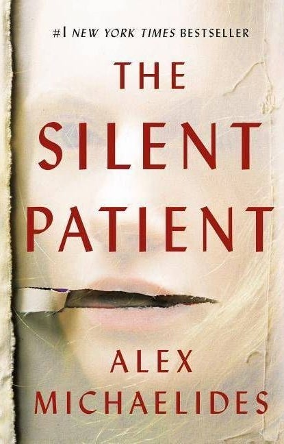 """cover of """"the silent patient """" by alex michaelides"""
