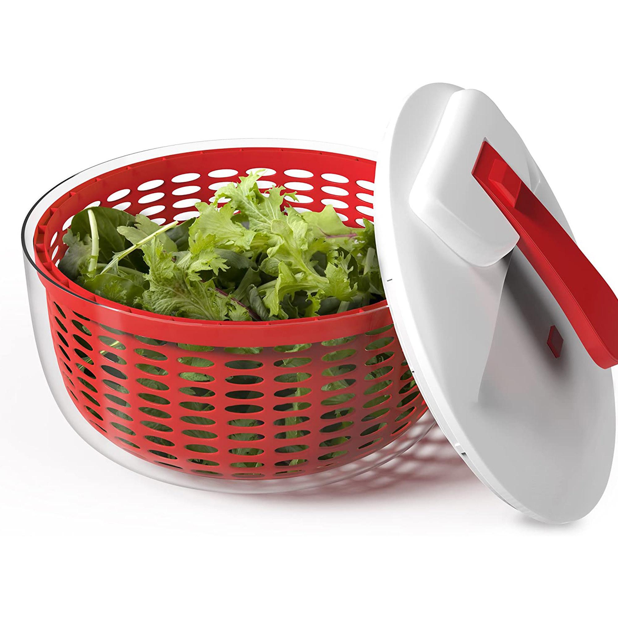 The red spinner full of lettuce
