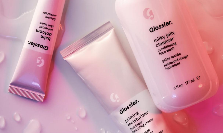 Glossier 3-Step skincare routine