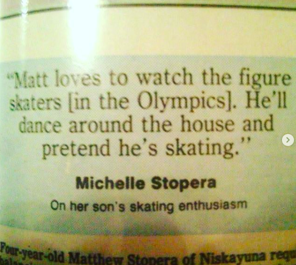 a quote about how i loved figure skating