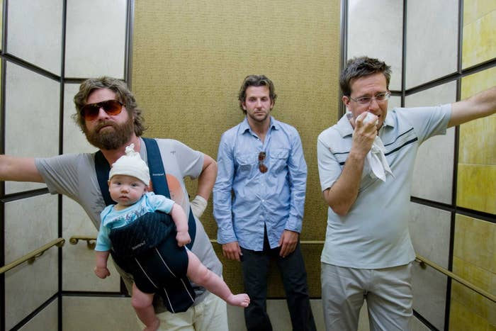 """A scene from """"The Hangover."""""""