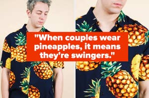 Pineapples means swingers