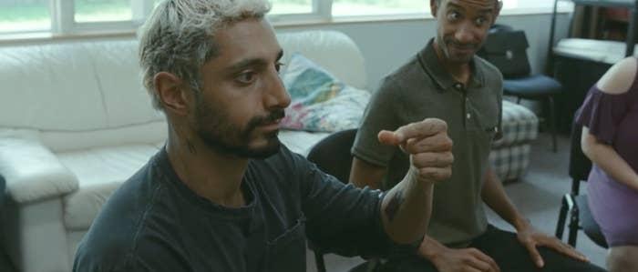 Riz Ahmed as Ruben signing in American Sign Language
