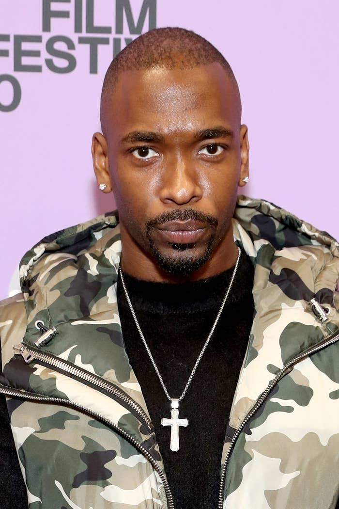 """Jay Pharoah of """"Bad Hair"""" attends the """"Bad Hair"""" premiere during the 2020 Sundance Film Festival at The Ray on January 23, 2020 in Park City, Utah"""