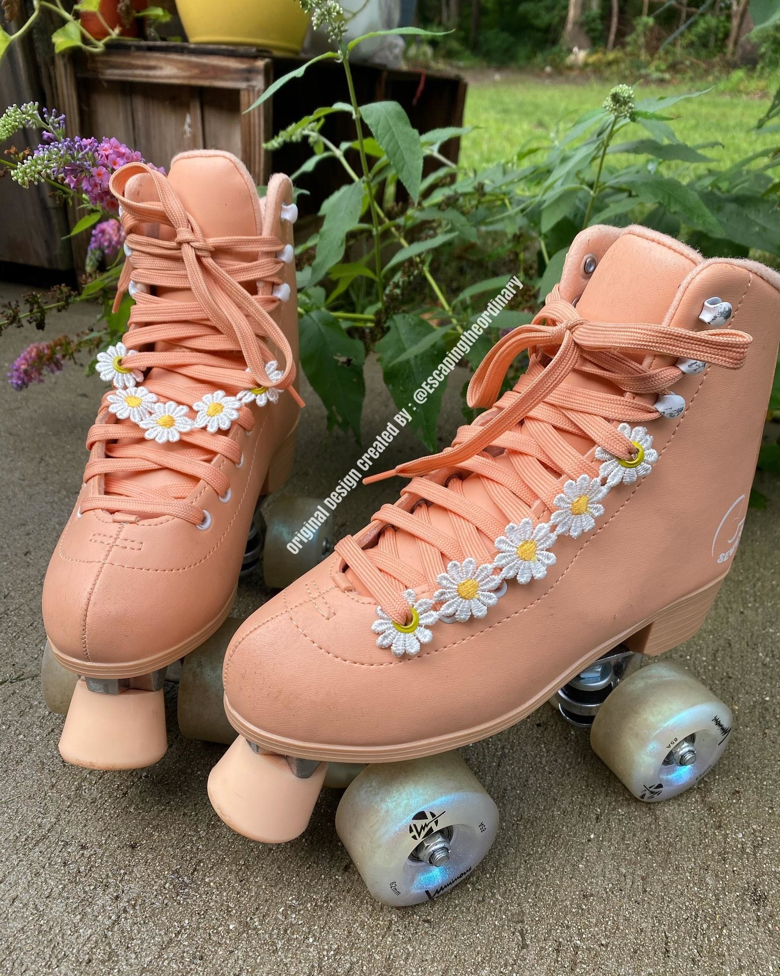 daisy chain accessories for shoes