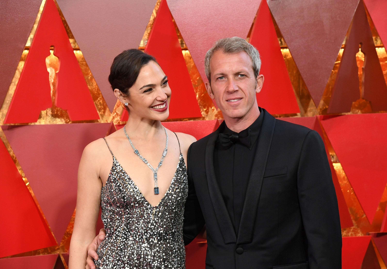 Gal Gadot and Yaron Vasano at the Academy Awards