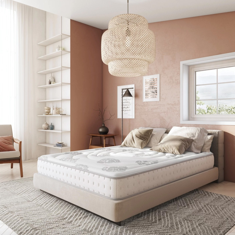The medium 10.5-inch thick mattress