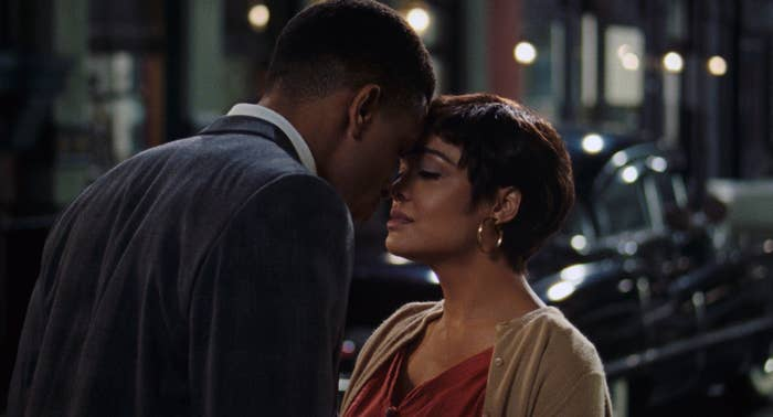 "Tessa Thompson and Nnamdi Asomugha in ""Sylvie's Love"""