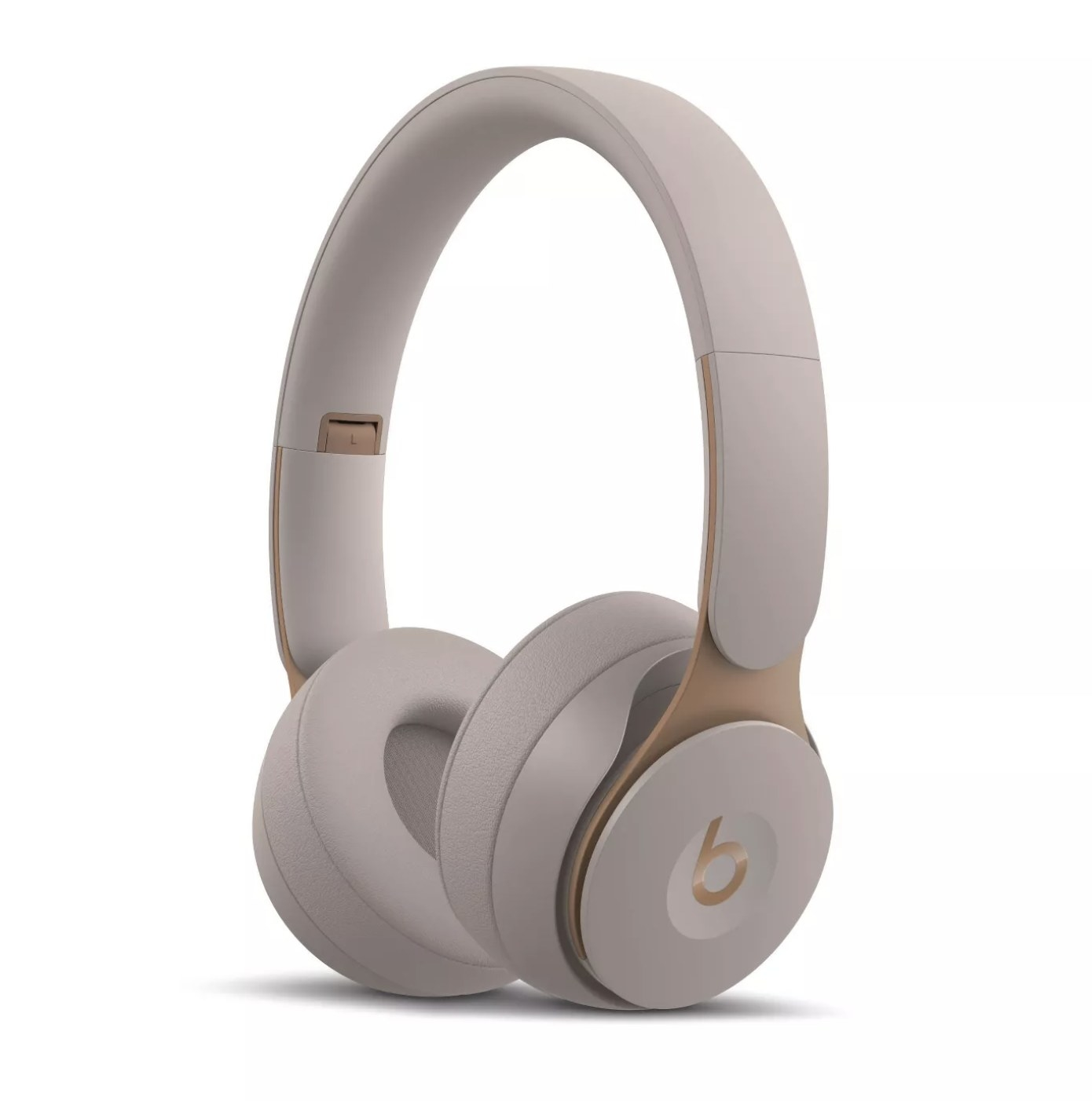 The headphones in a mauve