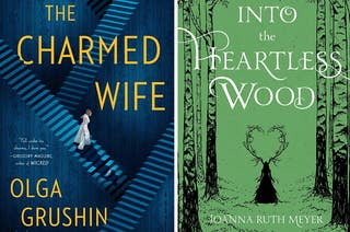The Charmed Wife / Into the Heartless Wood book covers