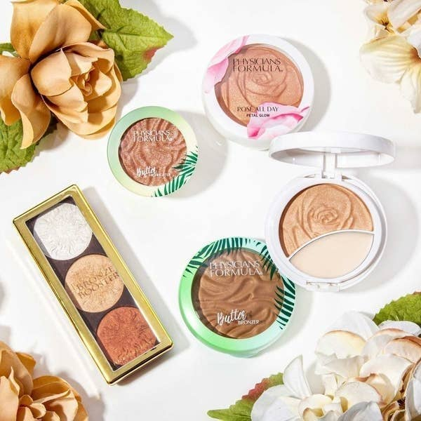 The buttery-looking bronzer