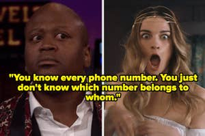 """""""You know every phone number. You just don't know which number belongs to whom"""" over surprised people"""