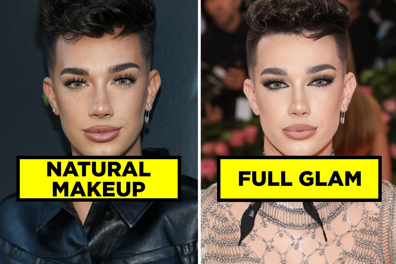 Do You Prefer These Famous People's Natural Makeup Or Full Glam Looks?