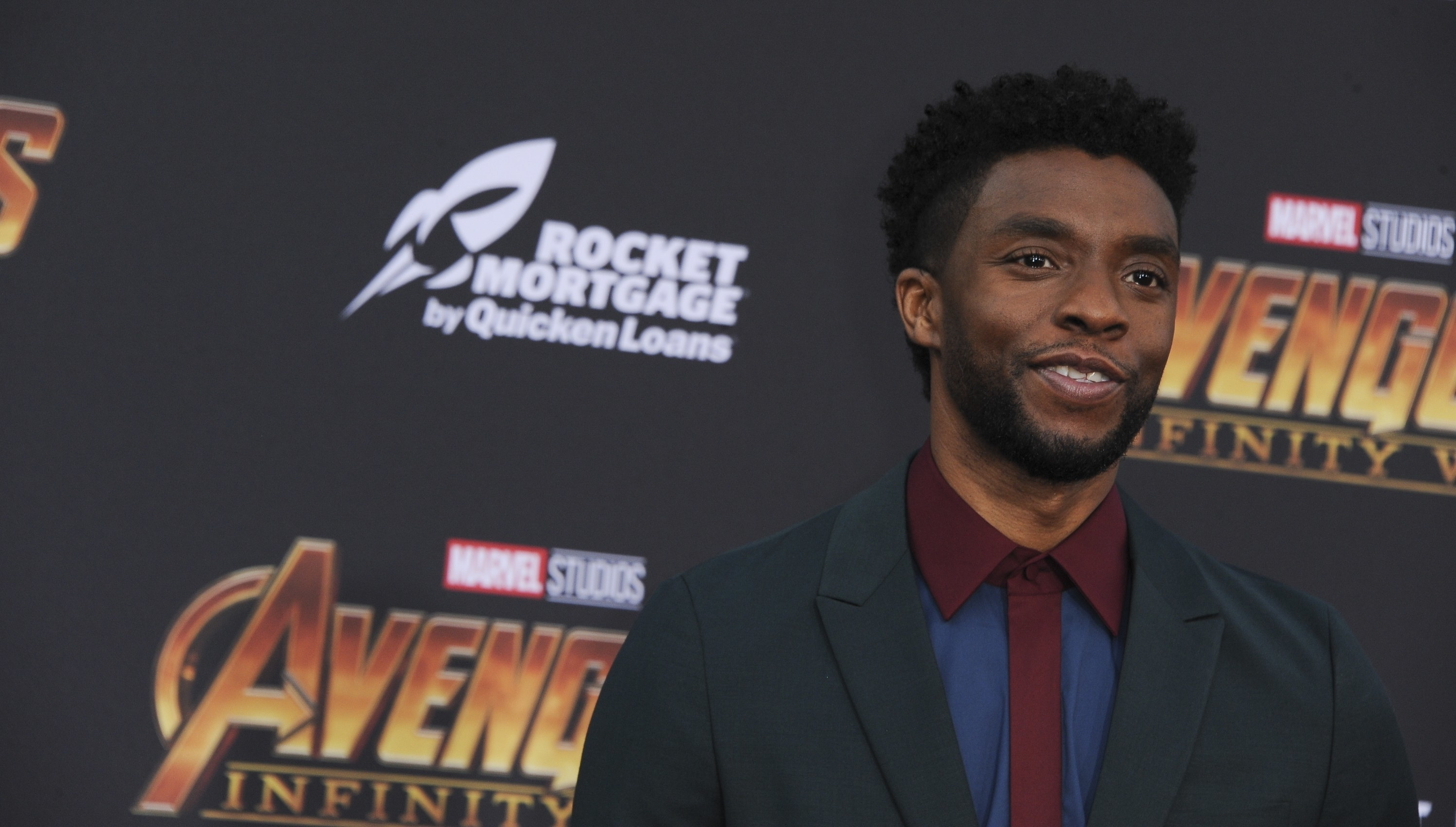 Chadwick Boseman at arrivals for Avengers: Infinity War
