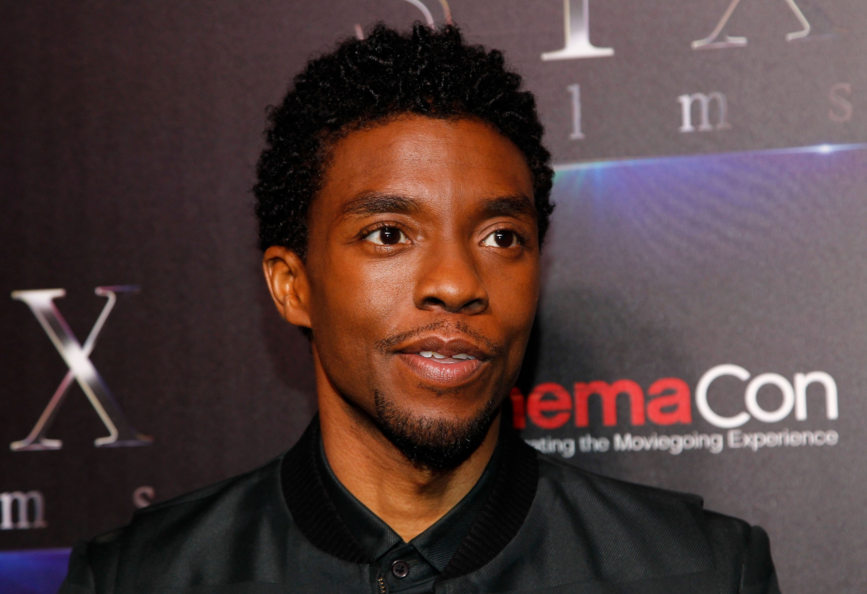 Chadwick Boseman in attendance for STXfilms Kicks Off CinemaCon's The State of the Industry: Past, Present and Future