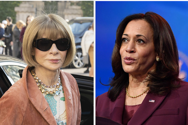 Image of article 'Anna Wintour Explained Why Vogue Chose Those Controversial Kamala Harris Covers'